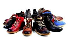 Boys Boots! Real Leather Vintage Kids Boots
