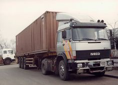 Freight Transport, Trucks, Fiat, Transportation, Trailers, Classic, Vehicles, Container, History