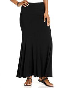Karen Kane Skirt, Flared Maxi - Skirts - Women - Macys
