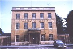 Once described as 'noble' Rodney House, built in 1790 for James Self was used as a Cooprative Society for many years and is now a solicitors The car park in front was once the garden, when the house was a residentce rather than a business.