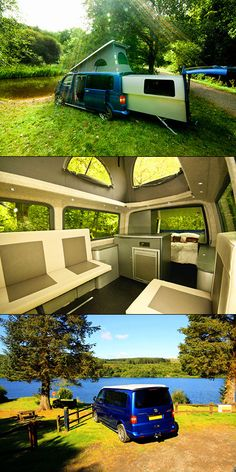 Take a look at23 of thecoolest Volkswagen camper vans! Volkswagen buses and vans are the original RVs. Long before we had 45' motorhomes outfitted with four slides, a big screen television and a dishwasher, Volkswagen was making compact camper vans with everything you needed for a fun and...