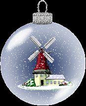 Animierte Weihnachten Gifs: Christbaumkugeln - Gif-Paradies