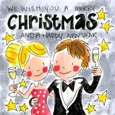We wish you a Merry Christmas and a Happy New Year - Blond Amsterdam Merry Christmas Quotes Wishing You A, Merry Christmas And Happy New Year, Christmas Greetings, Winter Christmas, Christmas Mantels, Blond Amsterdam, Tarjetas Diy, Xmas Wishes, Postcard Art