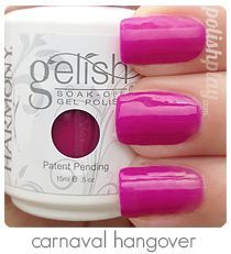 carnival hangover gelish - Google Search