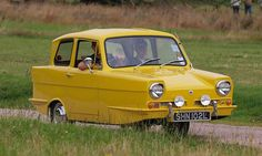 The Reliant Regal was a small three-wheeled car manufactured from 1953 until 1973 by the Reliant Motor Company in Tamworth, England. More than 50,000 were produced.