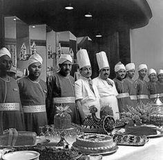 فريق العمل  في  جروبي في  الأربعينيات