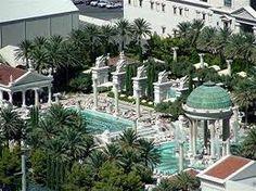 Caesars Palace, Las Vegas - pools