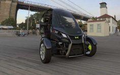 Arcimoto EV SRK 8 un triciclo eléctrico de 2 plazas  Vehículos ciudad coche electrico tecnología vehiculos