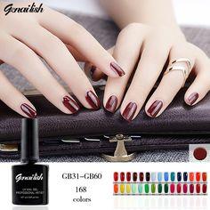 10ml/Pcs 168 Colors Gel Nail Polish UV Gel Nail Polish Long-lasting Soak-off LED UV Gel Color Hot Nail Gel Nail Art Tools-GB22