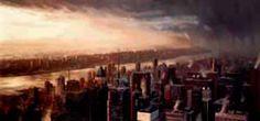 New York Nightfall  by James Blinkhorn