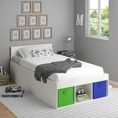 Lucerne Twin Mate's Bed