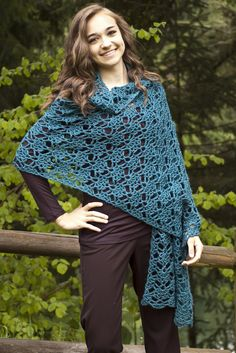 Gemstones Crocheted Shawl By Laura Krzak - Free Crochet Pattern - (ravelry)