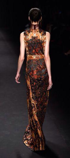 NY: Vivienne Tam - Runway - Mercedes-Benz Fashion Week Fall 2015