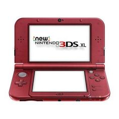 3DS SL System New Red - Nintendo - REDSRAAA
