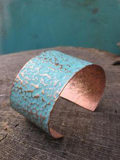 Copper Cuff, Copper Bracelet, Metal Bracelets, Copper Jewelry, Cuff Bracelets, Hammered Copper, Wire Jewelry, Bangles, Jewellery