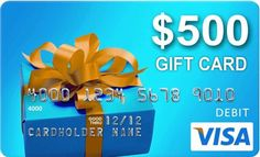 $500 Visa Gift Card Giveaway via Town and Country Living