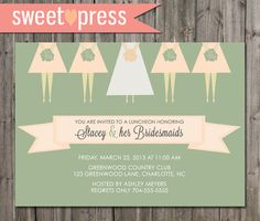 Bridal shower. Cute Banner Pattern idea and Bridesmaids legs! (Maybe with cute shoes!)