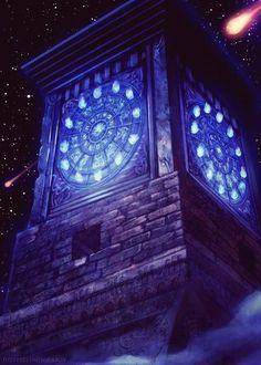Relógio de fogo- santuario