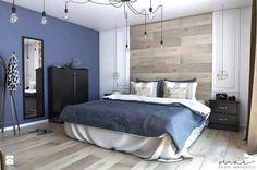 Na dobranoc ⭐ mamy dla Was piękną inspirację dotyczącą wystroju sypialni <3  Po materiały potrzebne do podobnych aranżacji zapraszamy do http://eurostandard.pl/, Topole 20 k/Chojnic.  Źródło: http://www.homebook.pl/inspiracje/sypialnia/368396_sypialnia-4-sypialnia-styl-skandynawski