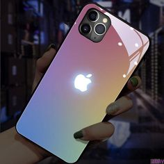 Sound Control LED Glowing iPhone Case (from 7 to XS Max) - iPhone 7 Plus / 8 Plus / Lavender