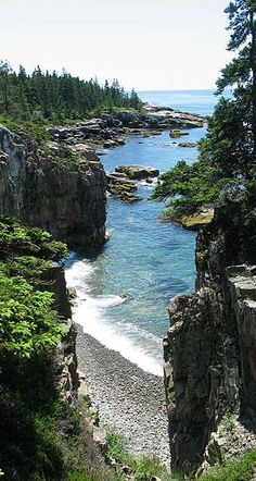 That awkward moment when someone tries to say Arcadia Natl Park, is in Bar Harbor Maine. When its ACADIA in MT DESERT, ME. Thank you! Outsiders need to get it right
