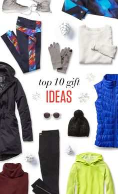 Amazing gift ideas to make spirits bright. Something for the cold. Something for the snow. Something bright. Plus all the little gifts that go the extra mile.