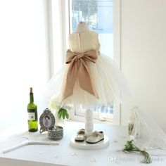 Tea Length Flower Girls Dresses Ivory,Champagne Girls Party Dresses Pleats Tulle Ball Gown Fast Shipping Shining Sequins Beads Cheap Flower Girls Dress Flower Girls Dresses Lace Flower Girl Dress Online with $79.0/Piece on Lpdqlstudio's Store | DHgate.com