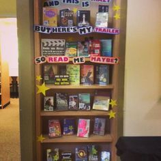 Books to Movies display