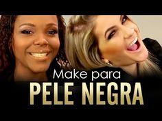 MAQUIAGEM PARA PELE NEGRA COM ALICE SALAZAR - Canal TOP - YouTube