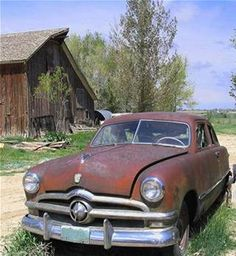 Old Cars in Barns - Bing Images