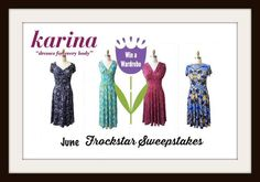 Whirlwind of Surprises: Karina Dresses June #Frockstar Events -Don't miss our $1000 #KarinaDresses #sweepstakes! @karinadresses