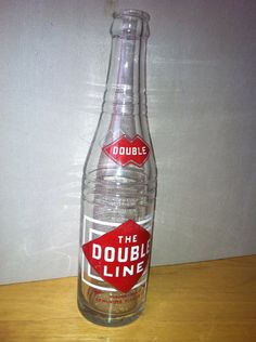 1936 ACL The Double Line Cola Soda Bottle by AnglersNestVintage, $8.00 Old Glass Bottles, Soda Bottles, Soft Drink, Acl, Signs, Drinks, Handmade Gifts, Vintage, Etsy