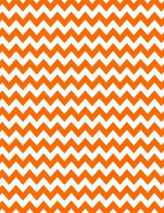 Orange chevron background - 15 colors available - free instant download.