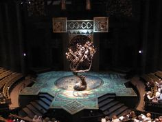 """Set for Lerner and Loewe's """"Camelot"""" at the Festival Theatre"""