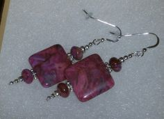 925 Sterling Silver Ruby Crazy Lace Agate Beaded by dsmenagerie, $19.99