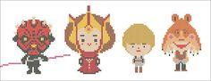 BOGO FREE Star Wars Padmé Amidala Anakin Skywalker Jar Jar