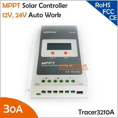 112.46$  Watch here - http://aliyoi.worldwells.pw/go.php?t=32481816037 - Tracer3210A 30A 12V 24V Auto Work MPPT Solar Charge Controller 112.46$
