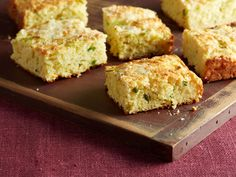 Jalapeno Cheddar Cornbread recipe from Ina Garten via Food Network - I want to try this gluten free!