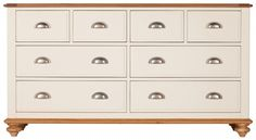 Pembroke 8 Drawer Wide Chest (DISCONTINUED)