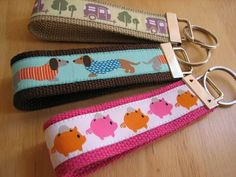 Love these key fobs.  And I think I squealed when I saw the camper ribbon.  How cute is that???