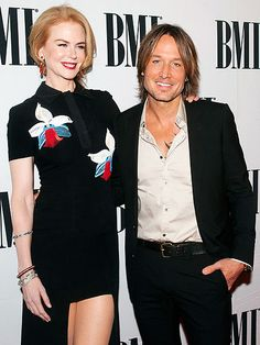 Nicole Kidman stands by her man Keith Urban as they attend the 62nd Annual BMI Country awards Tuesday in Nashville, ahead of Wednesday night's CMA Awards.