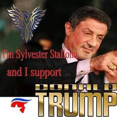 Sylvester Stallone supports Trump2016