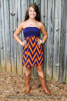 Auburn dress     For Great Sports Stories and Funny Audio Podcasts, Visit www.RollTideWarEagle.com