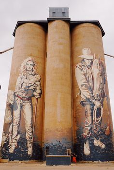Guide To Visiting The Silo Art Trail - Must-See Murals In Victoria, Australia New York Graffiti, Street Art Graffiti, Urban Street Art, Urban Art, Museum Of Fine Arts, Art Museum, Banksy, Symbolic Art, Chalk Art
