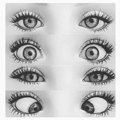Eye Drawing Tutorials, Art Tutorials, Most Beautiful Eyes, Beautiful Artwork, Pretty Eyes, Cool Eyes, Eye Study, Blue Green Eyes, Green Sky