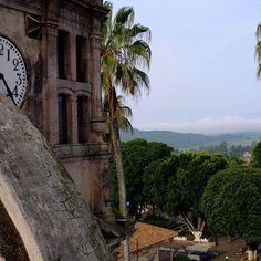 ¡Buenos días! Con esta hermosa vista amanece hoy en Tingüindín.