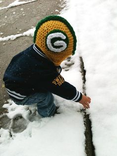 Green Bay Packers Helmet Beanie on Etsy, $18.00