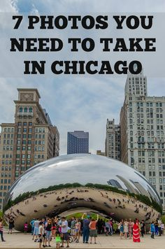 Looking for the best things to see + things to do in Chicago? Add capturing these iconic photos to your list! http://www.everintransit.com/best-views-in-chicago/