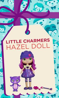 This Little Charmers Hazel doll is so fun!