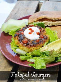 Amy's Cooking Adventures: Falafel Burgers #SecretRecipeClub